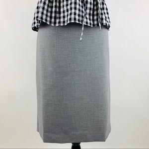 JCREW NWT No. 2 Pencil Skirt Four Seasons Stretch